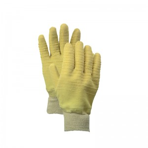 Chinese wholesale Latex Safety Work Gloves -