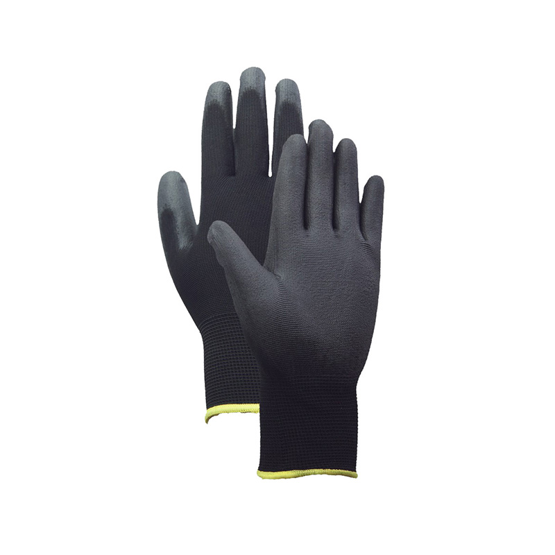 Chinese Professional Black Pu Gloves -