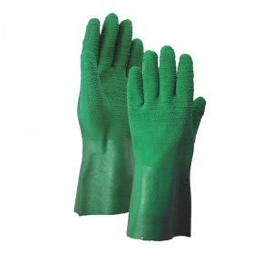 Low price for Green Latex Gloves Long -