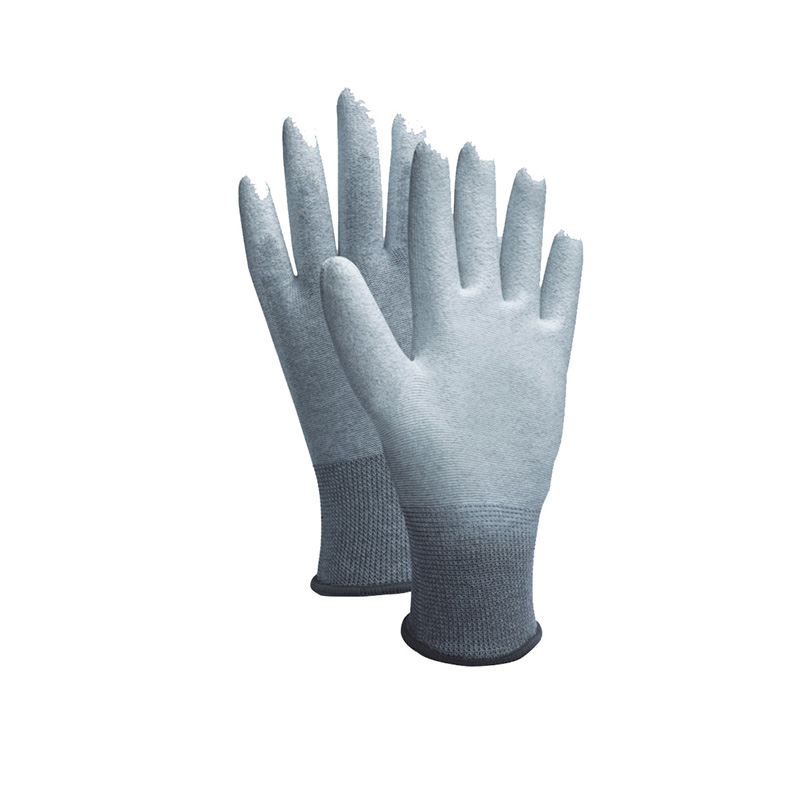 Hot sale White Pu Gloves -