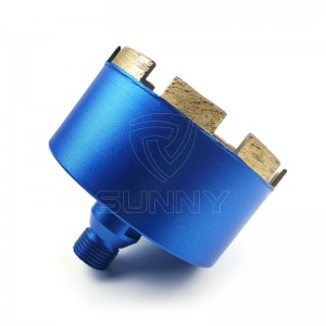 100mm G 1/2″ Thread Diamond Core Drill Bit For Stones