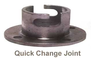 quick change  joint