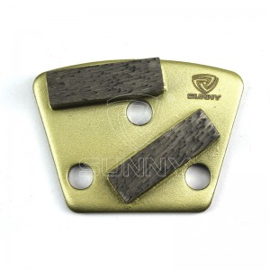 ASL Trapezoid Diamond Grinding Plate For Concrete Floor