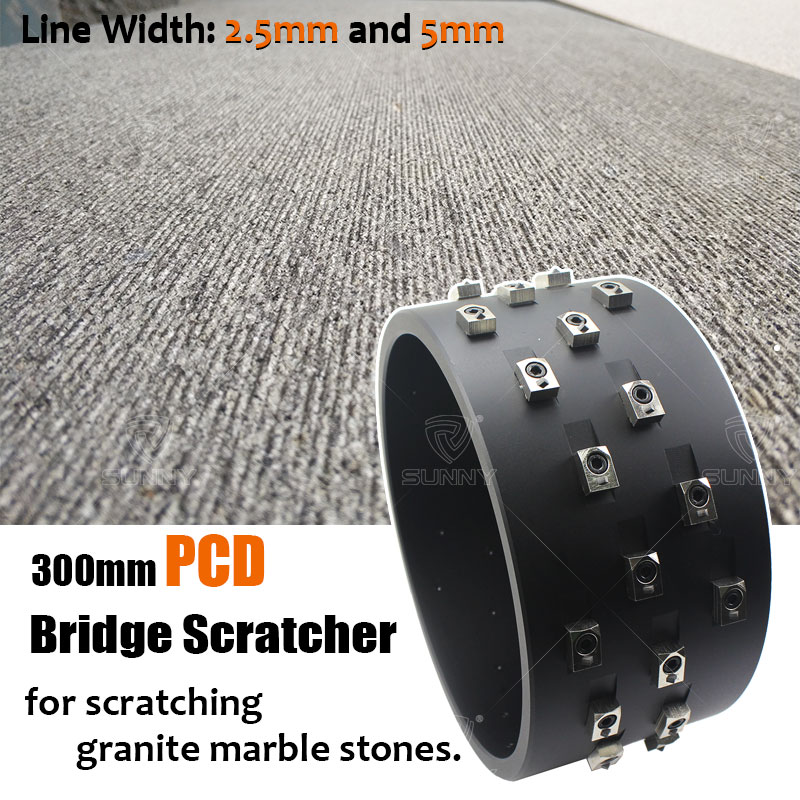 300mm-PCD-Bridge-Scratcher-For-Scratching-Granite-Marble-Stone