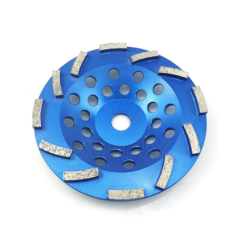 7 Inch High-Frequency Welded Diamond Cup Wheel For Sale Featured Image
