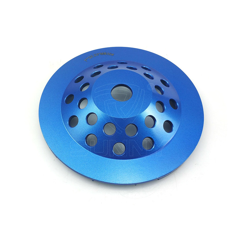 7 Inch High-Frequency Welded Diamond Cup Wheel For Sale