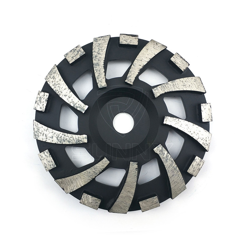 7 Inch Black Diamond Grinding Wheels For Concrete Featured Image