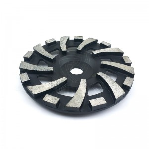 7 Inch Black Diamond Grinding Wheels For Concrete