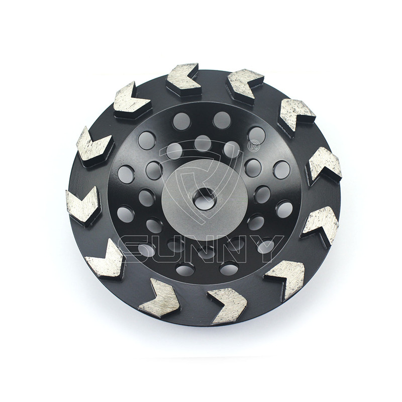 Arrow Type 7 Inch Concrete Grinding Disc Cup Wheel Featured Image