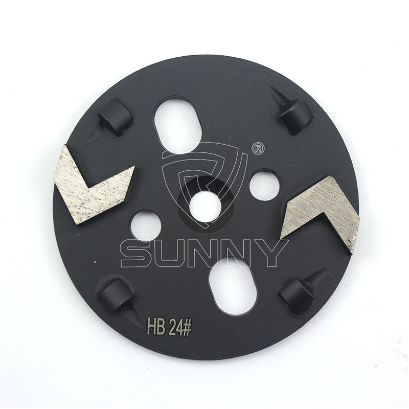 Coating Removal Tools PCD Grinding Disc For ASL Xingyi Floor Grinders Featured Image