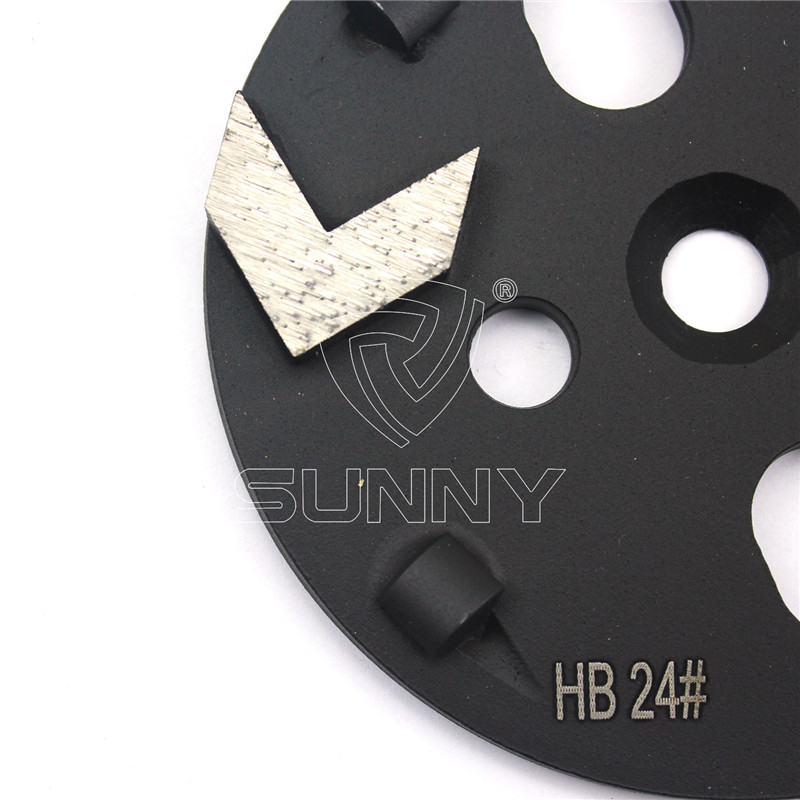 Coating Removal Tools PCD Grinding Disc For ASL Xingyi Floor Grinders