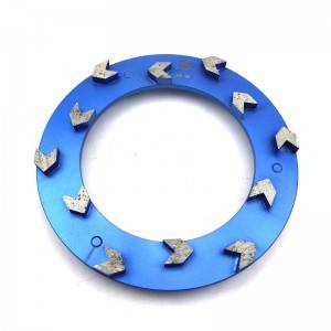 Arrow Type 240mm Klindex Diamond Grinding Disc For Concrete Floor