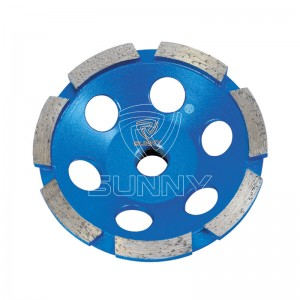 Single Row Type 4 Inch Diamond Cup Wheel Suppliers In China