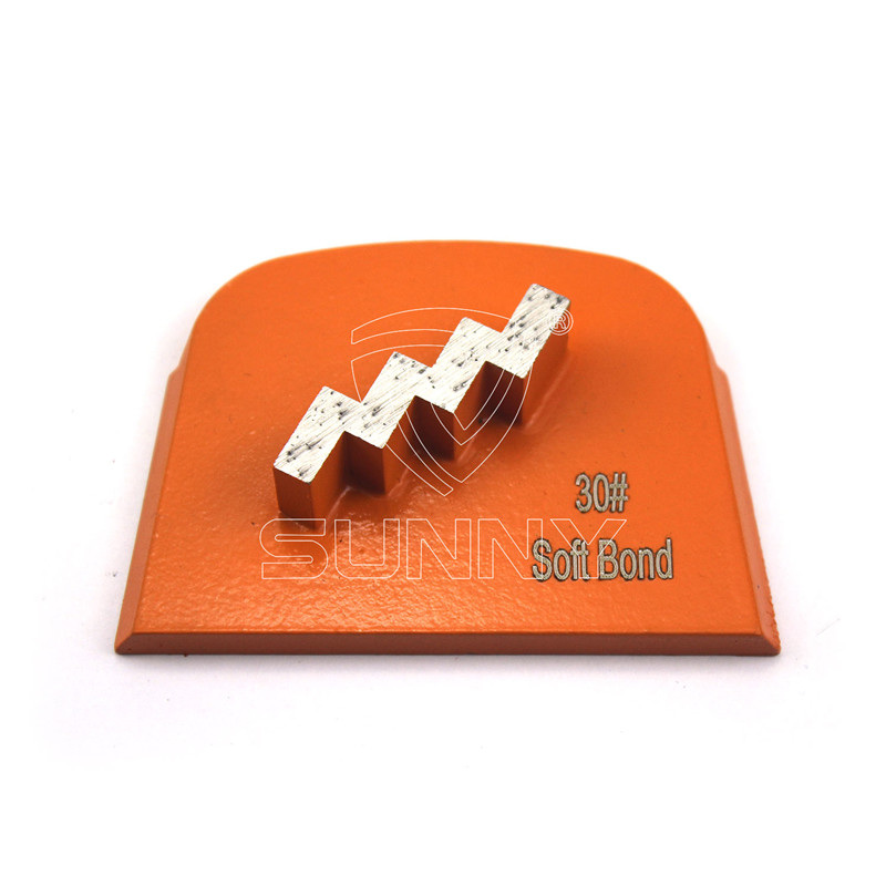 Stair Type Segment Diamond Grinding Disc For Lavina Grinding Machines