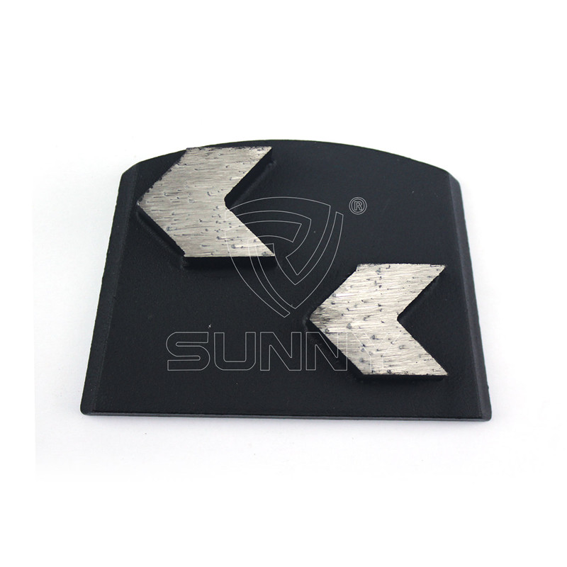 2 Arrow Segments Lavina Diamond Grinding Plate For Concrete Floor Featured Image