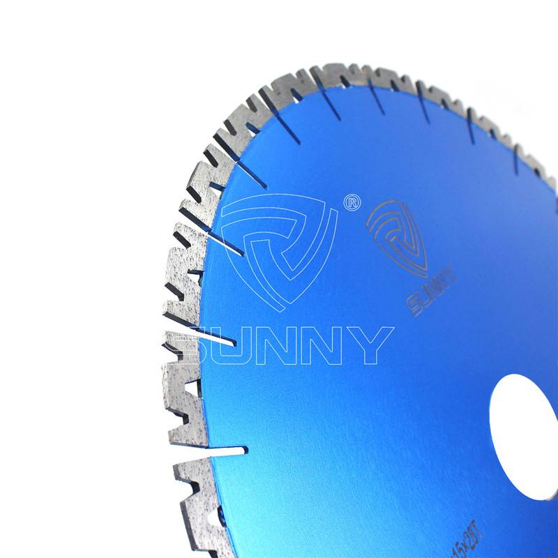 400mm W Shape Silent Granite Cutting Blade For Bridge Saw Featured Image
