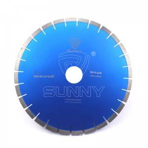16 Inch Silent Type Granite Diamond Saw Blade For Fast Cutting