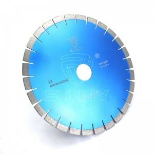 20mm Segment Height Silent Type Diamond Saw Blades For Cutting Granite