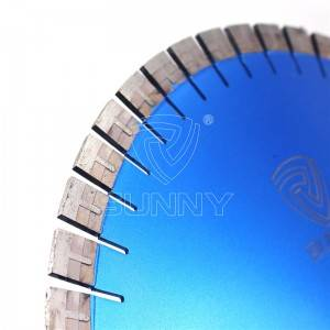 "Extra Sharp ""T"" Type 400mm Diamond Blade For Granite Cutting"