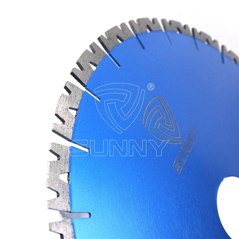 14 Inch Fast Cutting Granite Diamond Saw Blade With W Segments