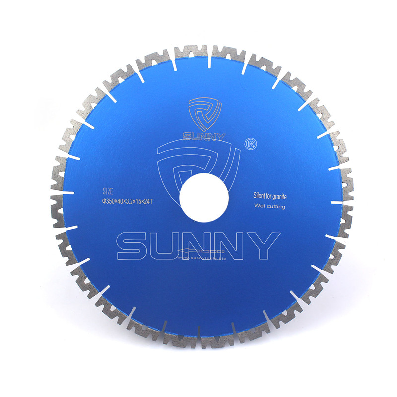 14 Inch Fast Cutting Granite Diamond Saw Blade With W Segments Featured Image