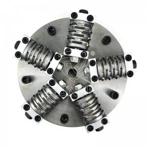 250mm Double Layer Bush Hammer Plate With 5 Multiline Heads