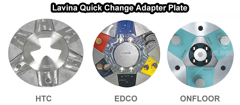 Lavina quick change adapter pate