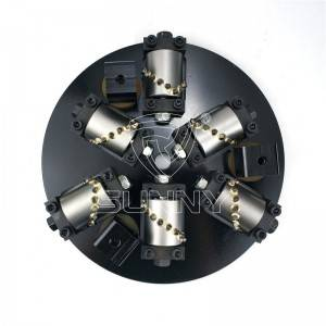 300mm Rotary Bush Hammer Plate For Texturing Bush Hammered Marble