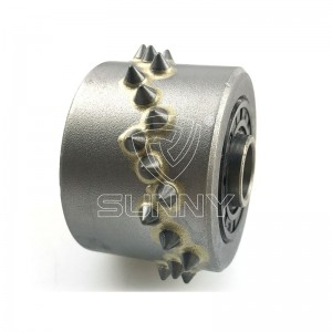 Special Mea Ia 30 Carbide niho Bush Hammer Roller Suppliers
