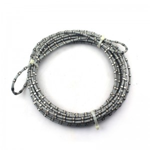 8.5mm Endless Diamond Wire Saw Ukuze Granite iphrofayela