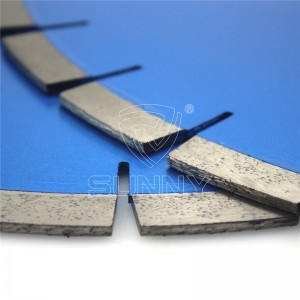 400mm Silent Type Diamond Saw Blade For Granite Cutting