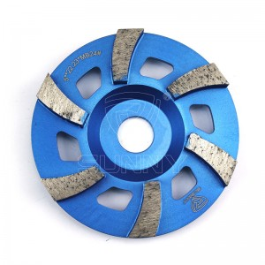 Durable 125mm Concrete Grinding Cup Wheel Suppliers