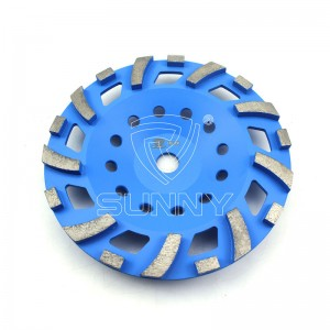 Tonado Type 7 Inch Diamond Cup wheel N'ihi Concrete egweri