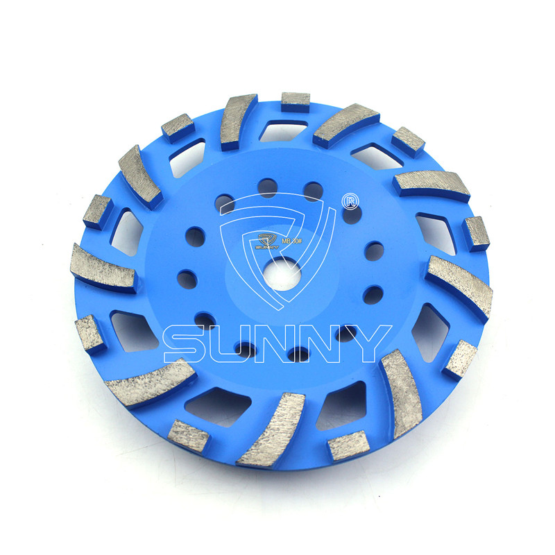 2017 Latest Design Terrazzo Polishing Pads -