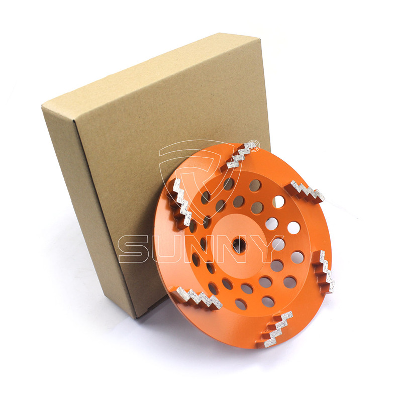 Stair Segment Type 7 Inch Concrete Grinding Wheel For Grinders