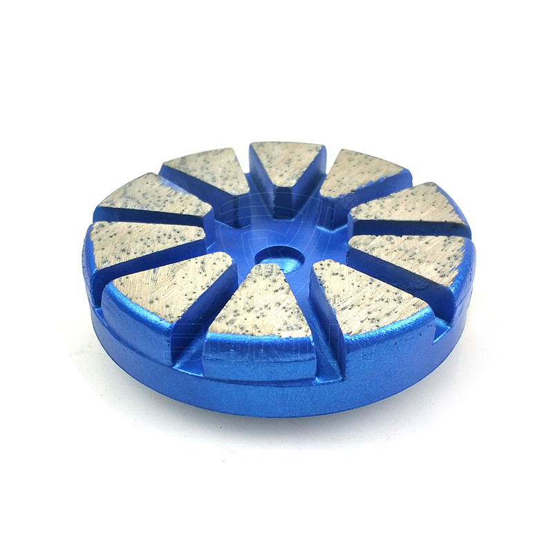 Redi Lock Type Husqvarna Diamond Grinding Puck With Round Edge