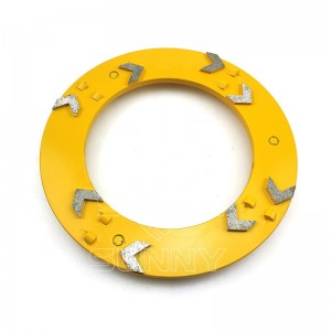 240mm PCD Concrete Coating Removal Disc For Klindex Grinders