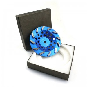 7 Inch Turbo Type Diamond Cup Wheel For Concrete Grinding