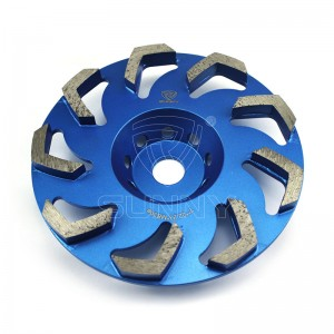 Specially Designed 7 Inch Concrete Grinding Disc With Affordable Price