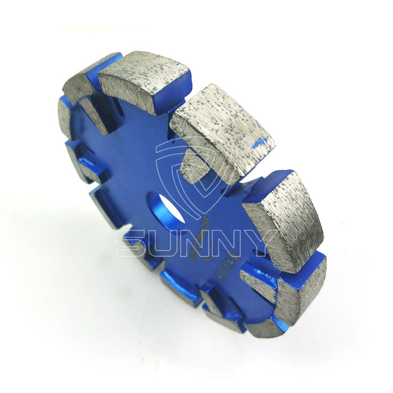 120mm Tuck Point Blade With 10 Protective Diamond Segments