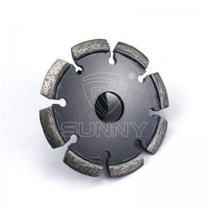 100mm V Shaped Crack Chaser Diamond Blade Ukuze engela Sander