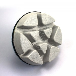Thick Resin Bonded Diamond Polishing Pads For Polishing Concrete Granite Marble Floors