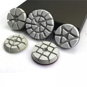 Oké resin bonded Diamond polishing pad N'ihi polishing Concrete Granite marble ala
