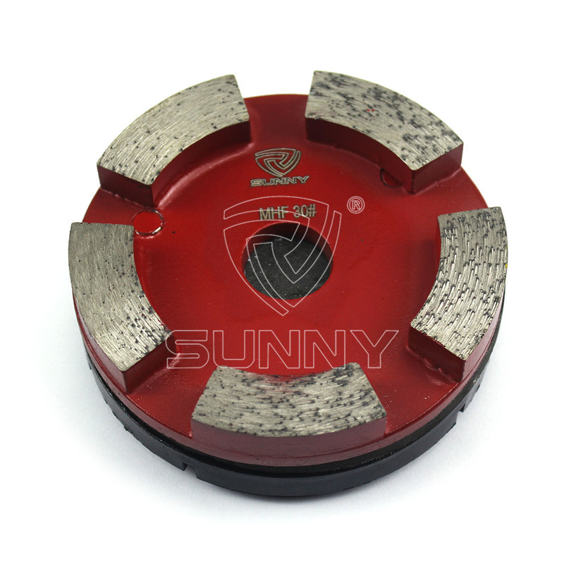 3 Pins 100mm Klindex Grinding Pads For Granite Concrete Floor Featured Image