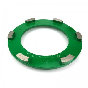 240mm Klindex Ring For Grinding Concrete Granite Marble Floor