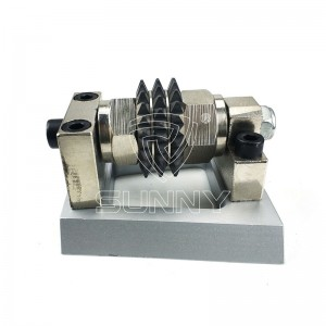 Satellite Carbide Type Bush Hammer Roller With Frankfurt Steel Base