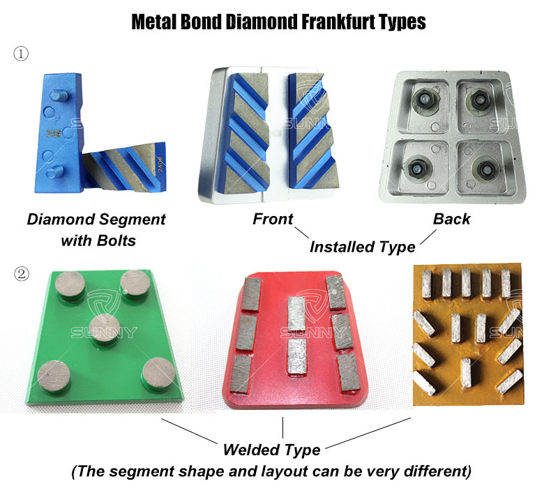 different types of metal bond diamond frankfurt