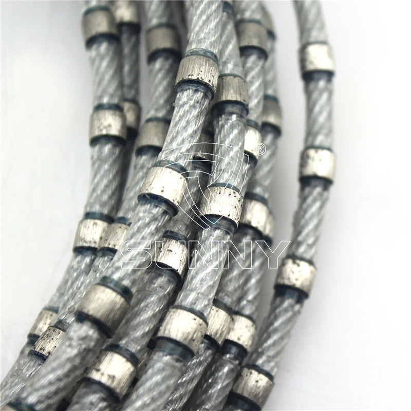8.5mm Endless Diamond Wire Saw For Granite Profiling
