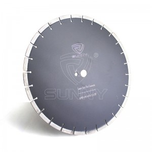 16 Inch Laser Concrete Saw Blade With Arix Diamond Segments