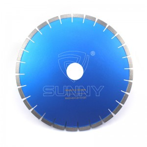 400mm Silenta Tipo Diamond Saw Blade Por Granito Tala